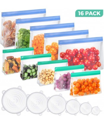 16 Pack Reusable Food...