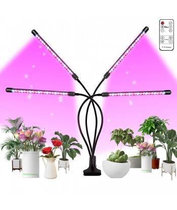 Grow Light, Plant Lights for Indoor Plants with Wireless Remote Control, Auto ON&Off Full Spectrum Plant Lights