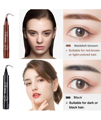 3PCS Black Eyebrow Pen -...