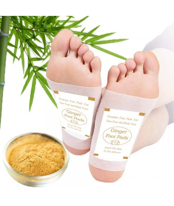 Foot Pads - (60Pads) Ginger...