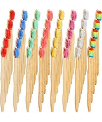 SENJWARM 40 Pieces Bamboo...