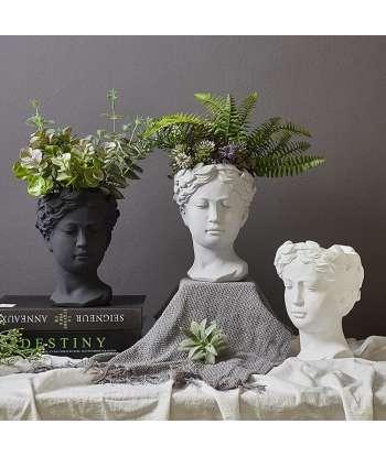 Face Planter Pot Head...