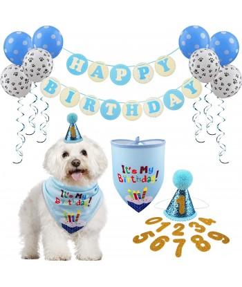 Dog Birthday Bandana Hat...
