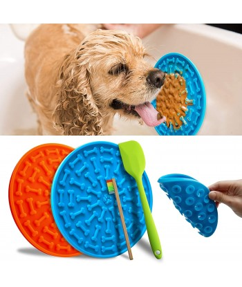 Silicone Dog Lick Mat Slow...