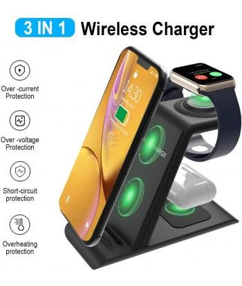 3 in 1 Wireless Charging...