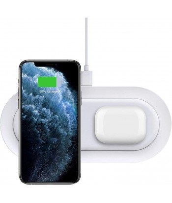 Dual Wireless Charger, 20W...
