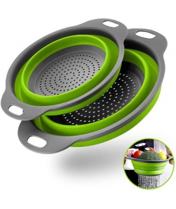 Collapsible Colanders with...